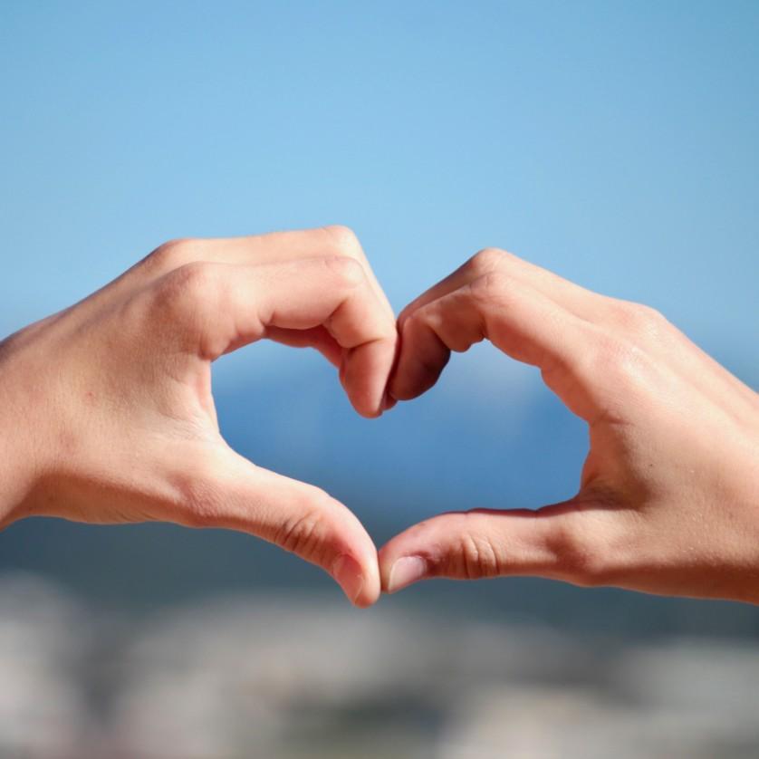 handen vromen hart