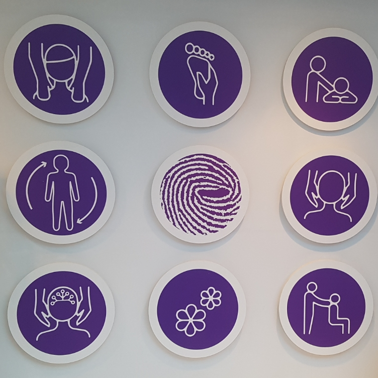 Ikonen aan de muur